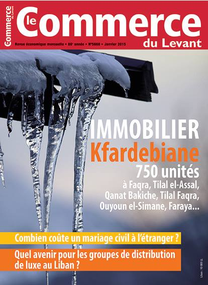 Le Commerce du Levant No. 5660 janvier 2015
