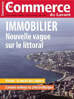 Le Commerce du Levant No.5672 Janvier 2016 – IMMOBILIER : Nouvelle vague sur le littoral
