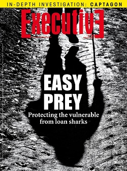 Issue 199 - EASY PREY: Protecting the vulnerable from loan sharks