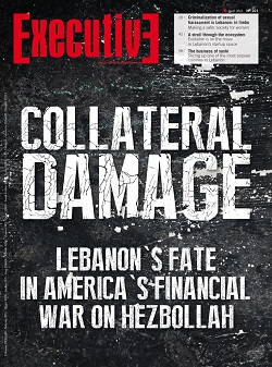 Issue 201 - COLLETERAL DAMAGE: Lebanon's fate in america's financial war on hezbollah