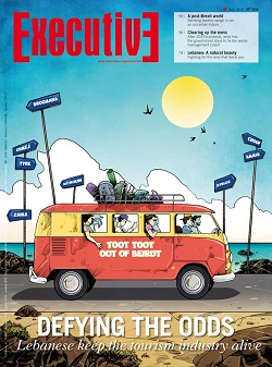 Issue 204 - TOOT TOOT OUT OF BEIRUT: Defying the odds(lebanese keep the tourism industry alive)