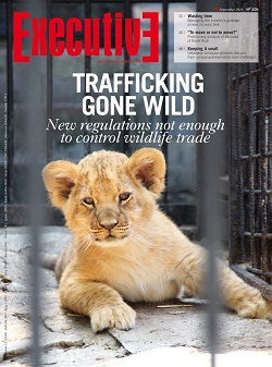 Issue 206 - TRAFFICKING GONE WILD: New regulations not enough to control wildlife trade