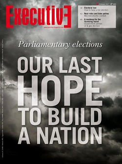 Issue 210 - PARLIAMENTARY ELECTIONS: Our last hope to build a nation
