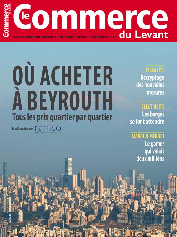 Le Commerce du Levant No.5692 Septembre 2017