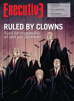 Issue 218 - RULED BY CLOWNS