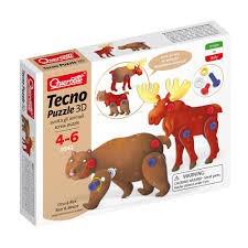 Tecno Puzzle 3D Orso AND Alce