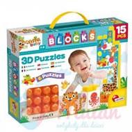 CAROTINA BABY BOX PUZZLE 3D ANIMALS