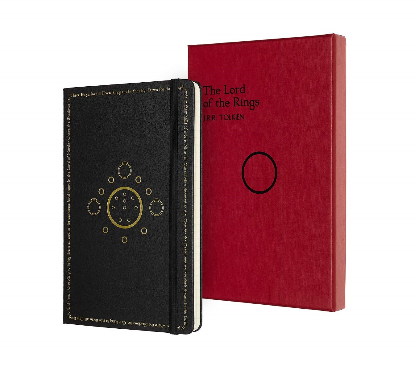 Moleskine LE Collector's Edition LORD OF THE RINGS RU-L-H-BK
