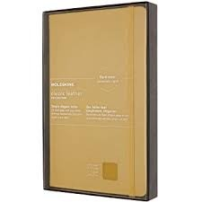Moleskine LC Leather Notebook RU-L-S-YE
