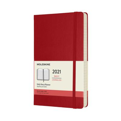 Moleskine Daily Planner L-H-RE (2021)