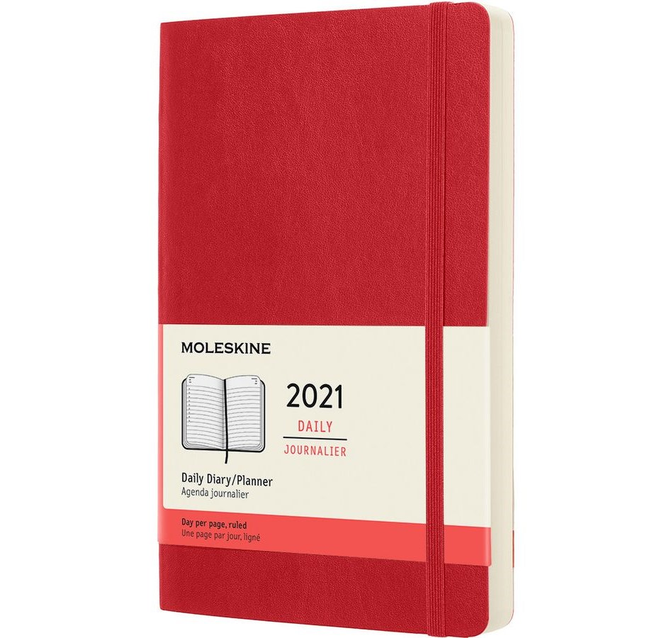 Moleskine Daily Planner L-S-RE (2021)