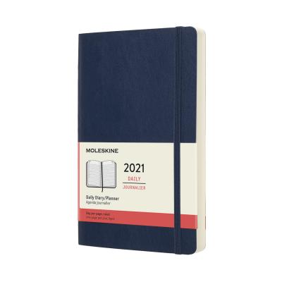 Moleskine Daily Planner L-S-BL (2021)