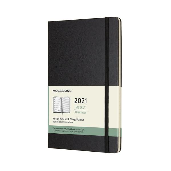 Moleskine Weekly Planner L-H-BK (2021)