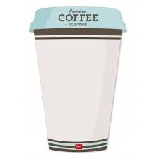 Something To Remember Magnet Board - Coffee Shape