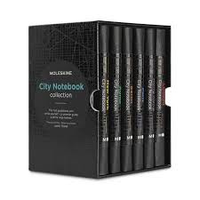 MOLESKINE CITY NOTEBOOK COLLECTOR BOX