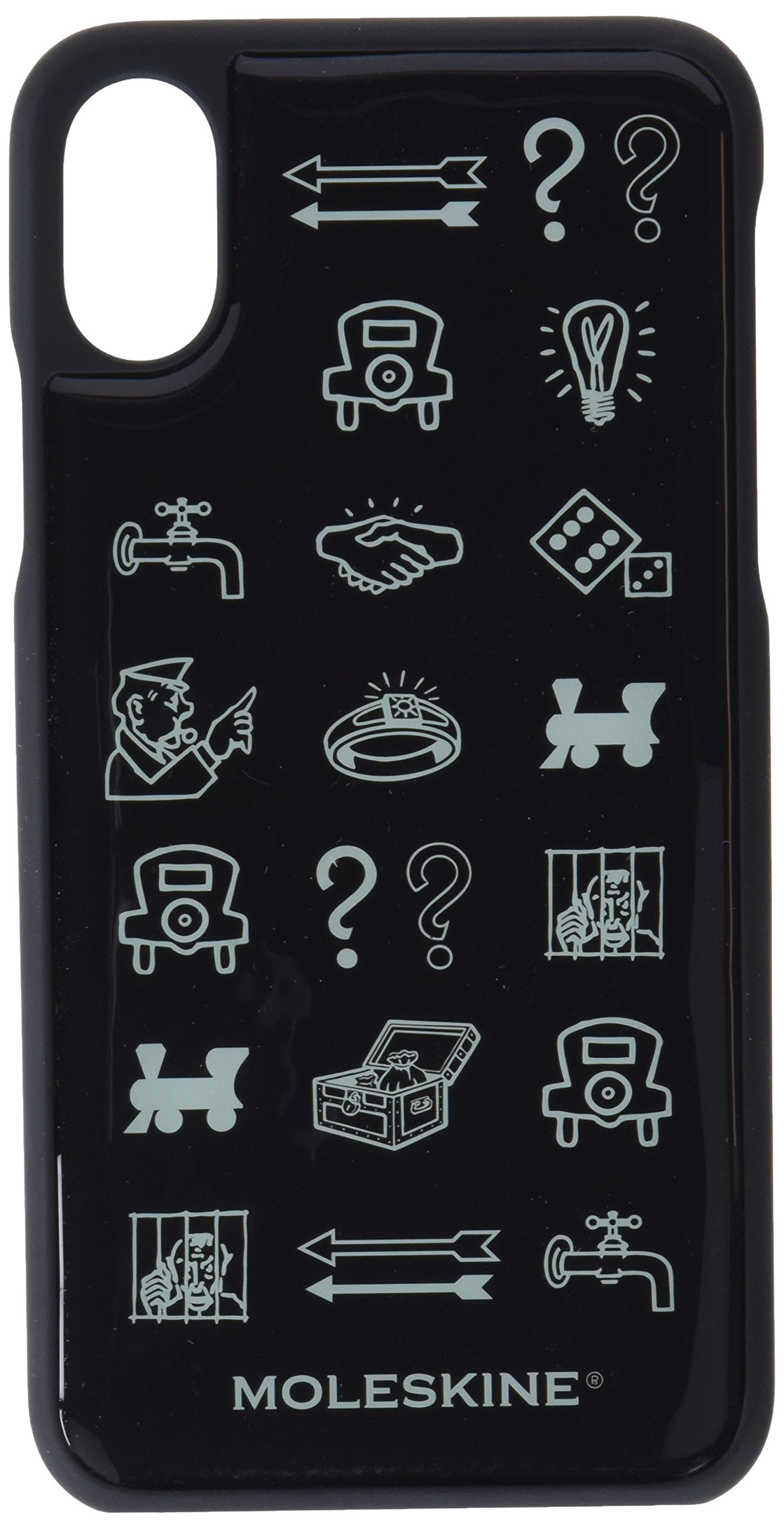 Moleskine Case Limited Edition Monopoly Iphone X