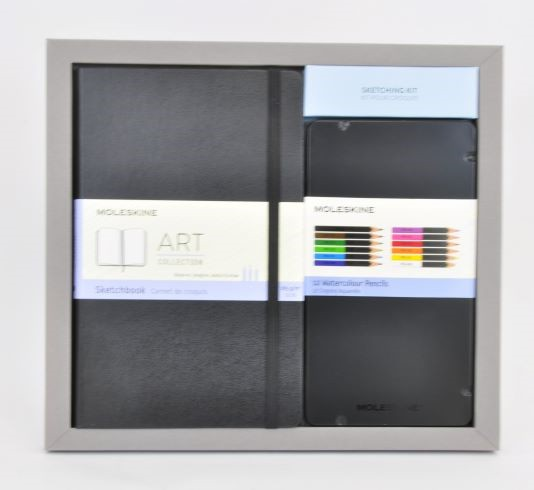 Moleskine Bundle: ART Sketchbook   Watercolour Pencils