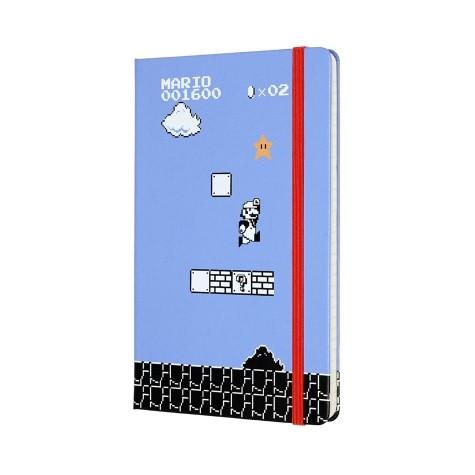 Moleskine LE Notebook SUPER MARIO RU-L-H-BL