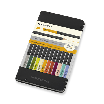 Moleskine Urban Nomad Coloring Set 12 pieces