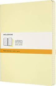 Moleskine Cahier Journal RU-XL-C-YE