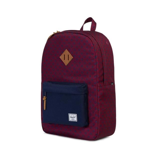 Herschel Heritage Backpack Heritage Uni Wine 18''(H) X 12.25''(W) X 5.5''(D)