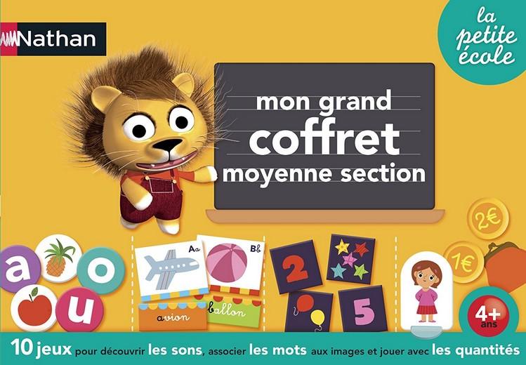MON GRAND COFFRET MOYENNE SECTION