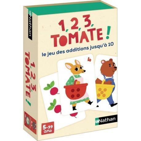 1 , 2 , 3, TOMATE ! LE JEU DES ADDITIONS JUSQU' A 10