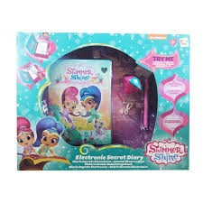 NICK SHIMMER AND SHINE ELECTRONIC SECRET DIARY