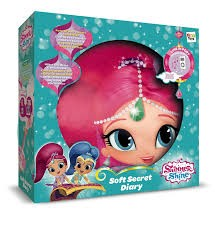 NICH SHIMMER AND SHINE SOFT SECRET DIARY W/MP3SPEAKER