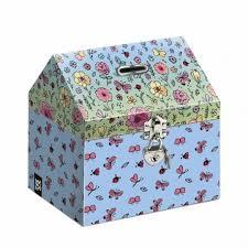 Country Cardboard Moneybox 2018