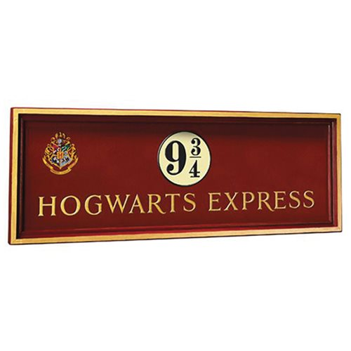 HP - Hogwarts 9 3/4 sign
