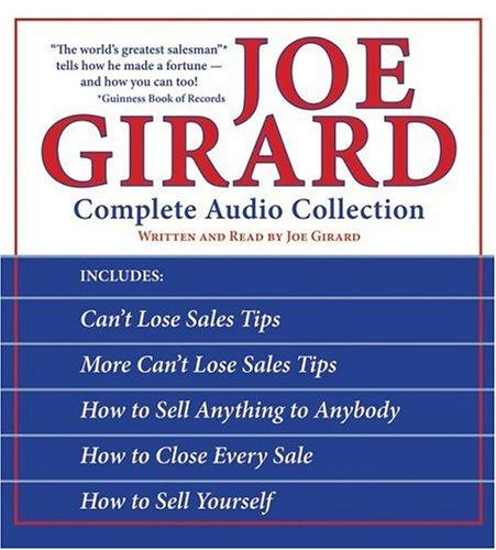 Joe Girard Complete Audio Box Set Cd