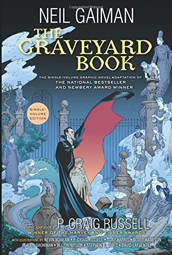 Graveyard Book Graphic Novel Single Volume, The