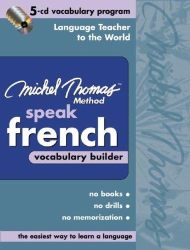 Michel Thomas Method Speak French Vocabulary Builder