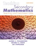 Teaching Secondary Mathematics: Techniques And Enrichment Units (8Th Edition)