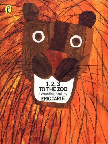 1, 2, 3, To The Zoo: A Counting Book (Picture Puffin)