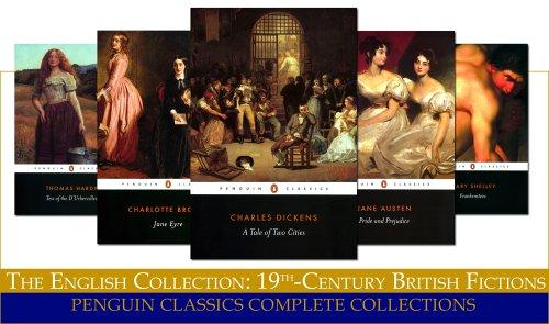 The English Collection:  19Th-Century British Fictions (Penguin Classics Complete Collections)