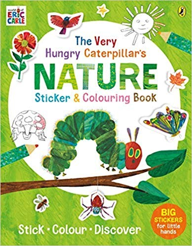 The Very Hungry Caterpillar'S Nature Sticker And Colouring Book Paperback – 1 Aug 2019