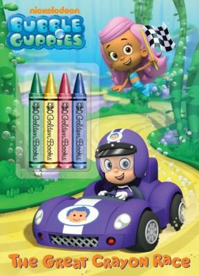 Bubble Guppies Chunky Crayon Book (Bubble Guppies) (Color Plus Chunky Crayons)