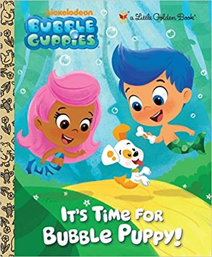 Gup, Gup and Away! (Bubble Guppies) (Little Golden Book)