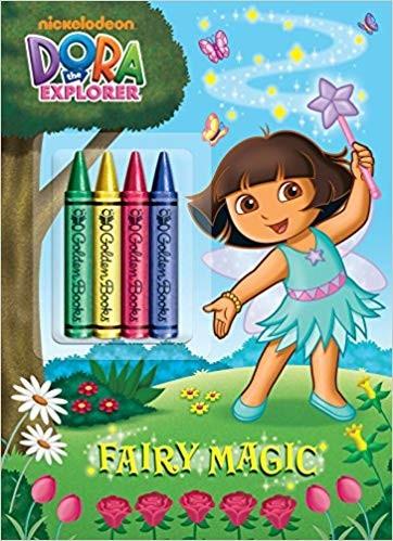 Fairy Magic (Dora the Explorer) (Color Plus Chunky Crayons)