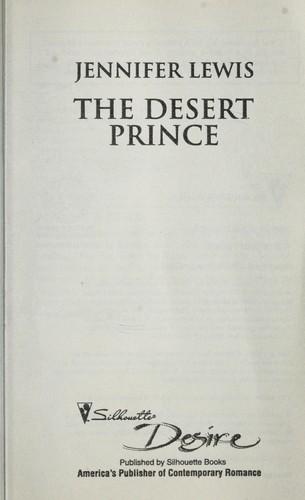 Antoineonline com : Desert prince, the (9780373730063) : Jennifer