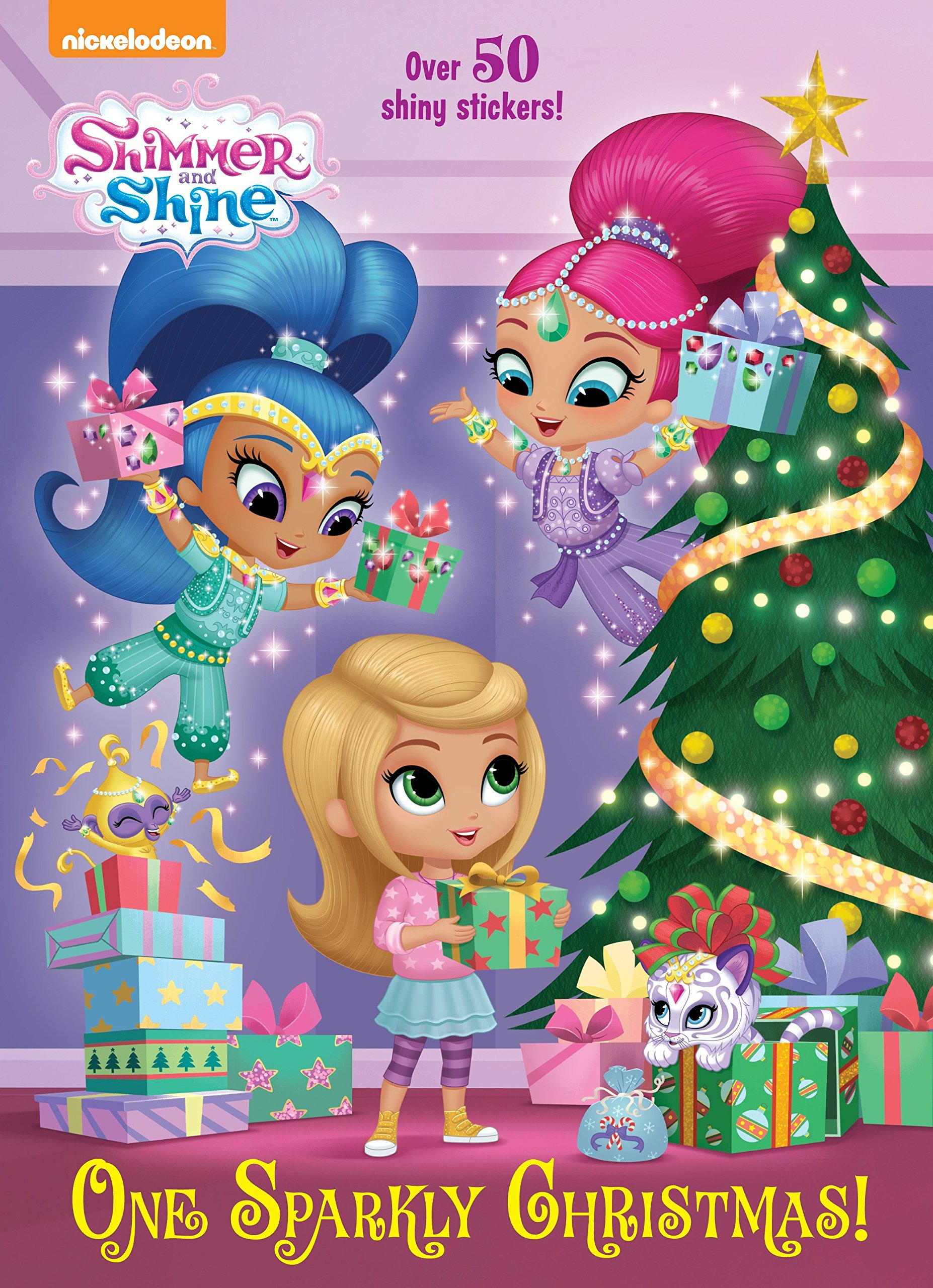 One Sparkly Christmas! (Shimmer and Shine) (Hologramatic Sticker Book)