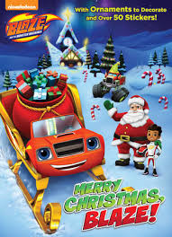 Merry Christmas, Blaze! (Blaze and the Monster Machines) (Color Plus Cardstock and Stickers)