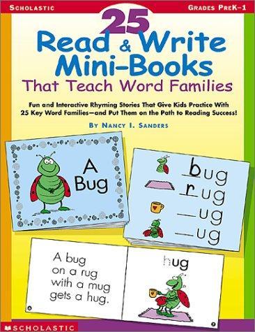 25 Read & Write Mini-Books That Teach Word Families