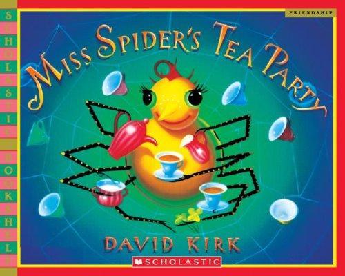Miss Spiders Tea Party Scholastic Bookshelf