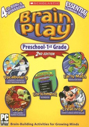 Antoineonline com : Brain play pk-1st grade cd compilation