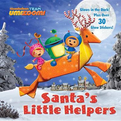 SANTA S LITTLE HELPERS-GLOW 8X