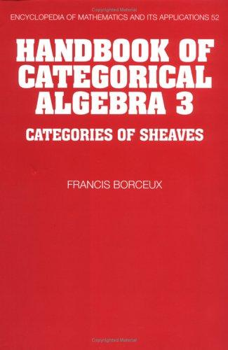 Antoineonline com : Handbook of Categorical Algebra: Volume