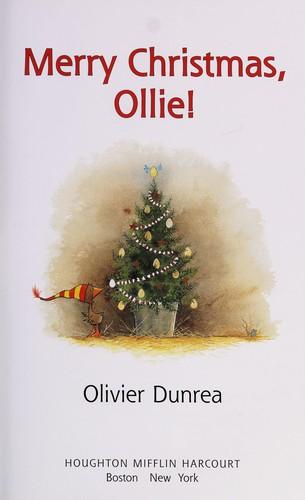 Merry Christmas, Ollie (Reader)